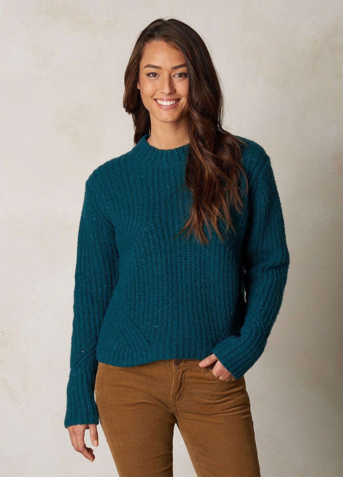 Sweater crop pattern nude (sweaters)™ - Monochrome