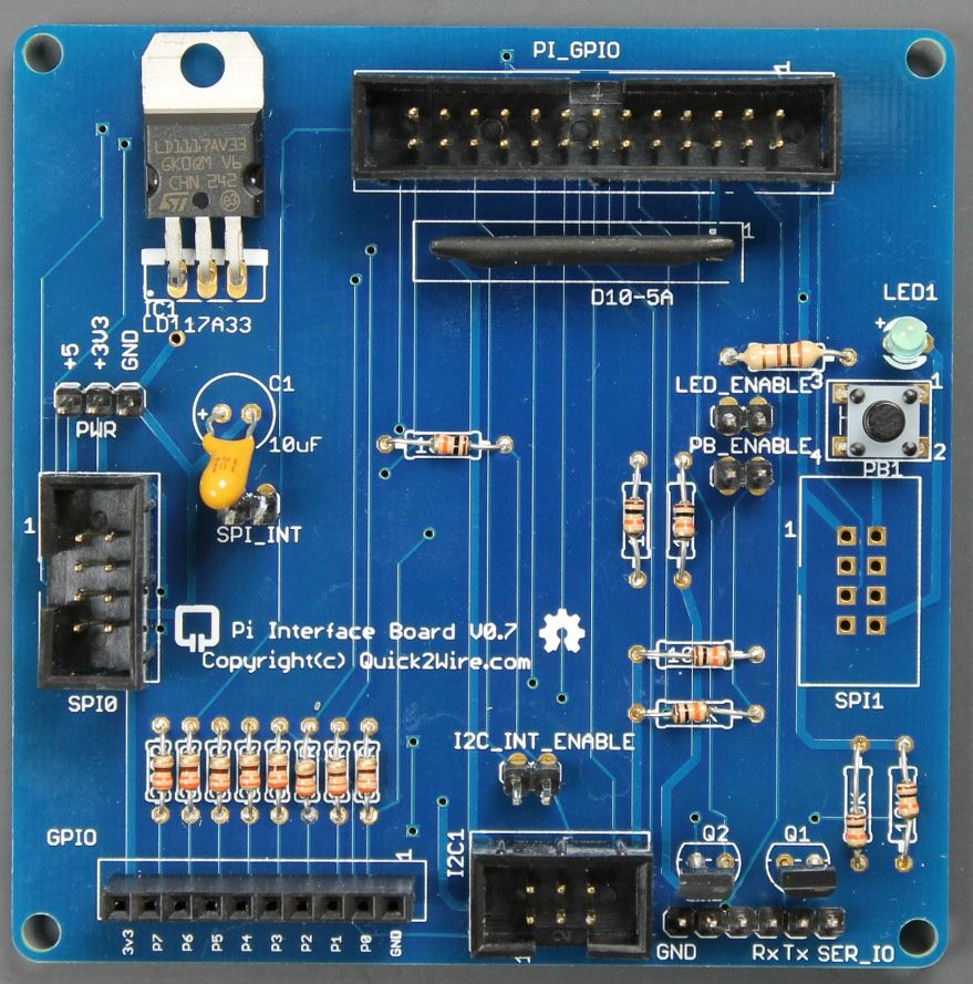 SK Pang starts selling Quick2Wire boards for #RaspberryPi