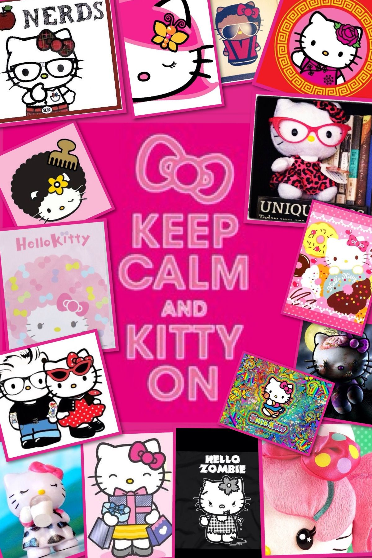 Hello kitty wallpaper iphone wallpapers pinterest hello i love this hello kitty wallpaper i believe this is for a iphone 4 or 5 voltagebd Images