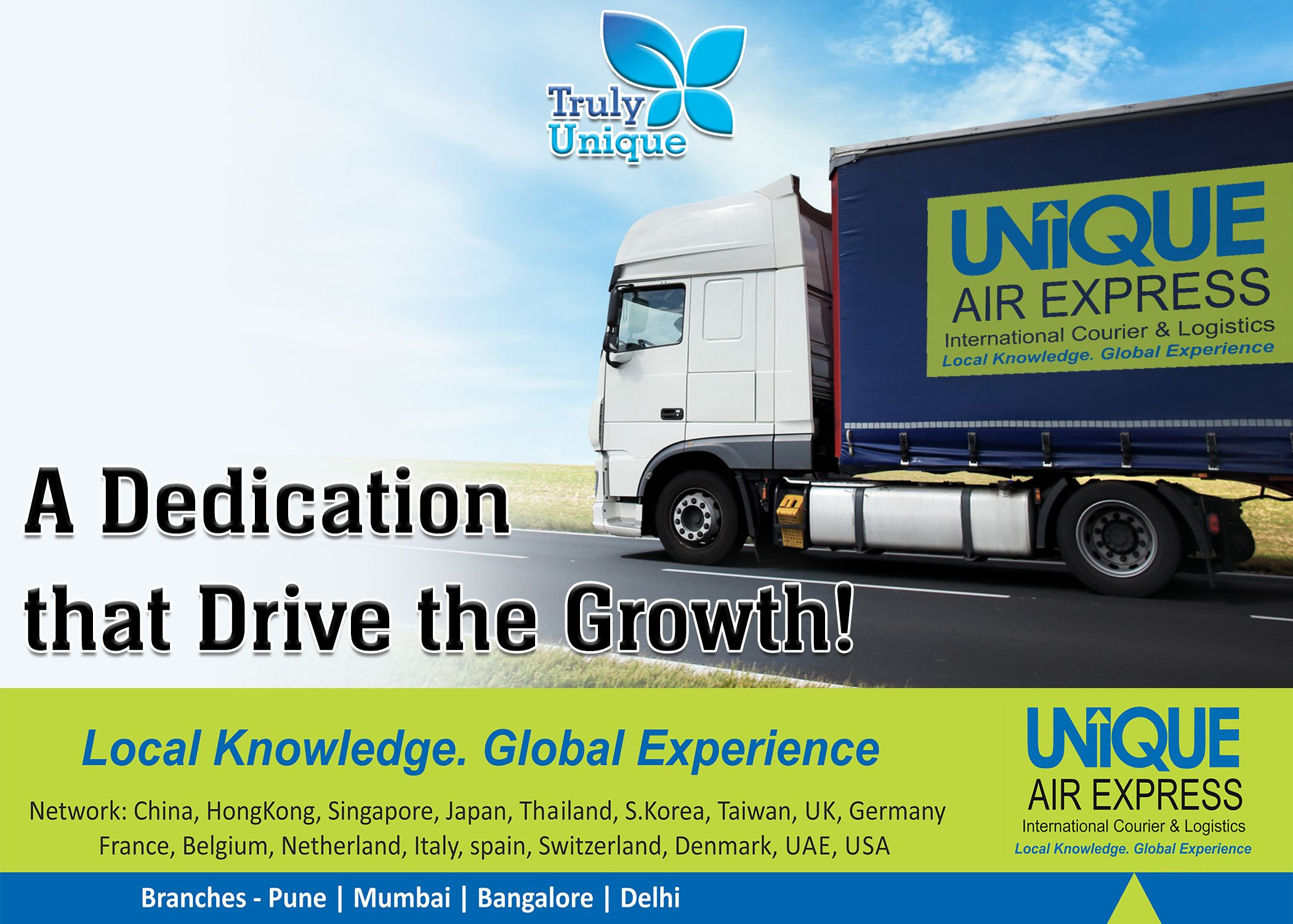 The Fastest Growing International Courier and Cargo