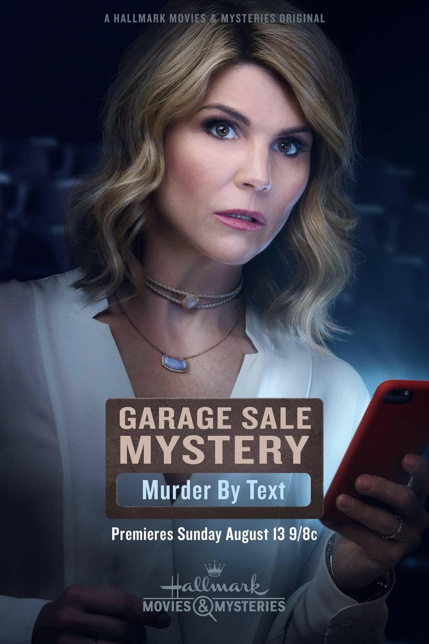 Pin By Lorie Ortiz On Cozy Mystery Movies Tv Garage Sale Mystery Hallmark Movies Lori Loughlin