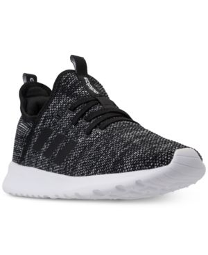 6479c7382a3 adidas Women s Cloudfoam Pure Running Sneakers from Finish Line - Black 5.5