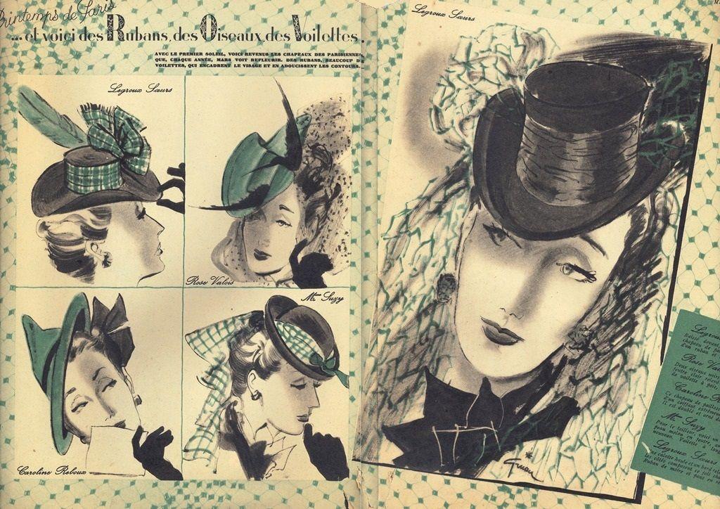 MARIE CLAIRE 1941-Gruau