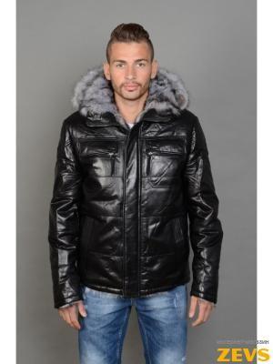 05223293677 Мужские зимние кожаные куртки