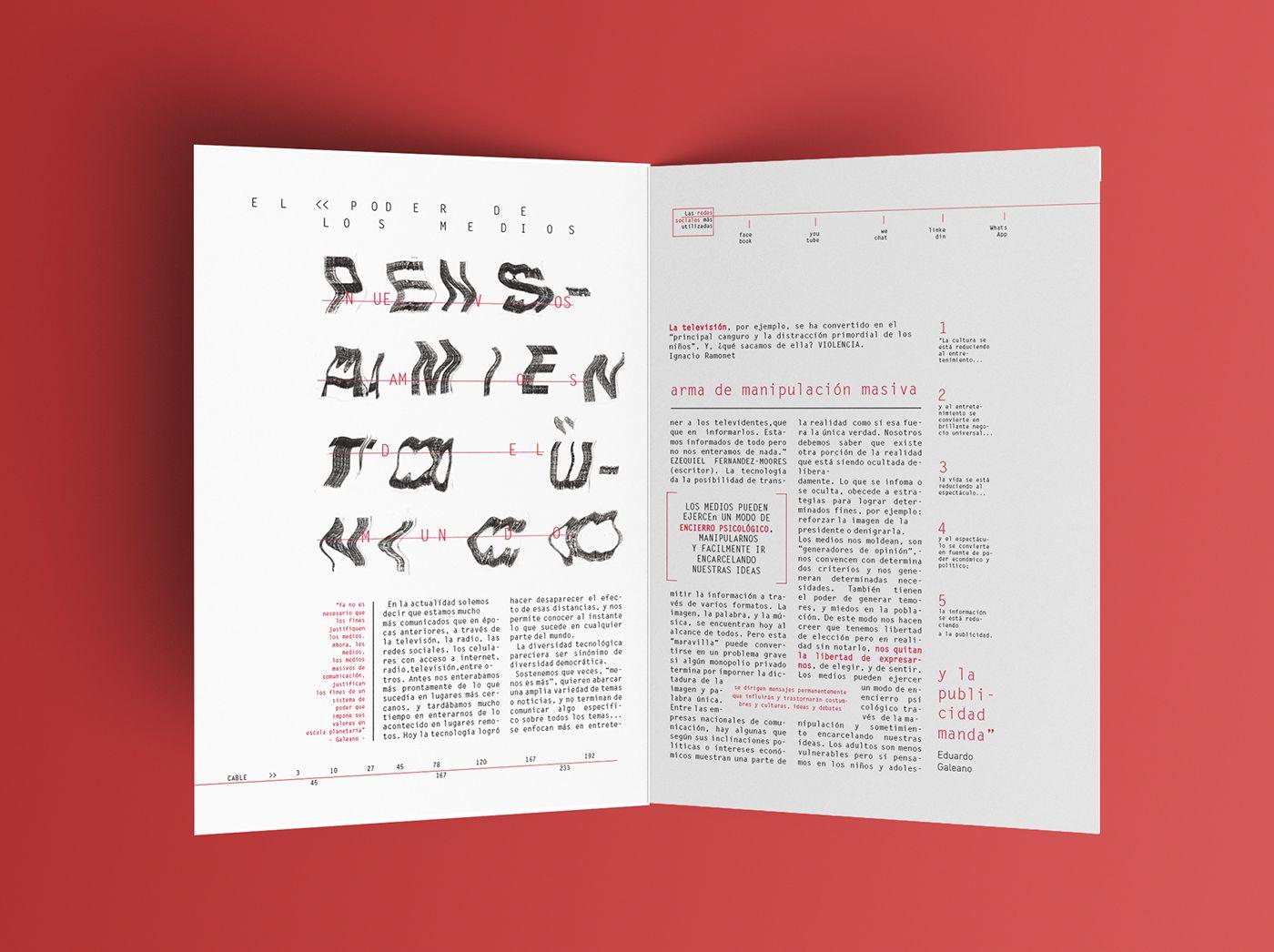 Cárcel - Desplegable tipográfico on Behance