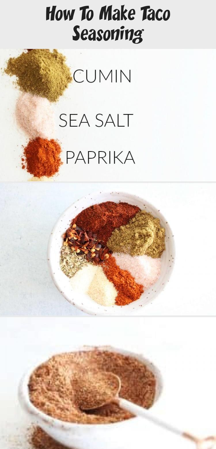Ditch store bought taco seasoning packets and make your own! Enjoy this super fun and easy DIY homemade taco seasoning recipe! thetoastedpinenut.com #taco #tacoseasoning #healthy #diy #homemade #recipe #EggRecipe #PaleoRecipe #SummerRecipe #HealthyRecipe #SpaghettiRecipe #tacoseasoningpacket