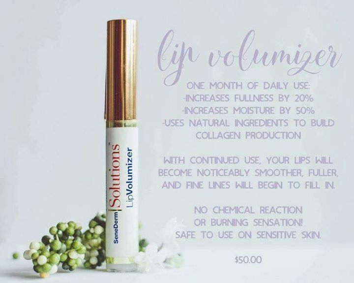 senegence s lip volumizer the results are incredible increases