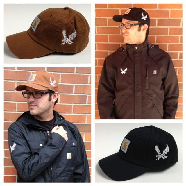 ASEWU's Frank can't get enough of the EWU Bookstore's new Carhartt gear! Carhartt Light Jacket: $66.00 Carharrt Hat: $23.95