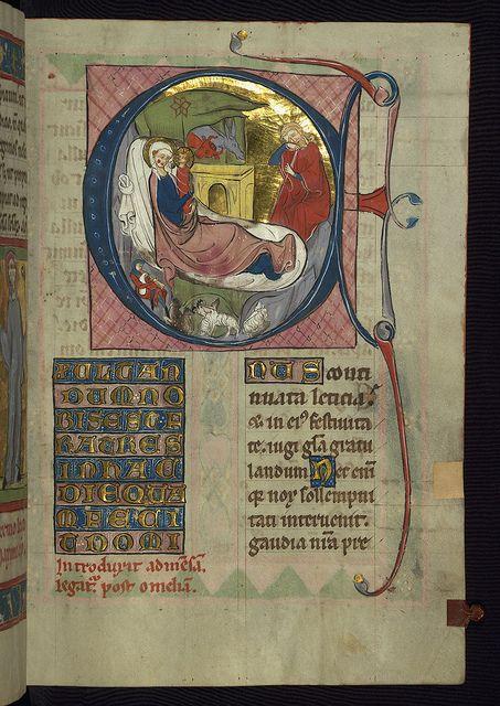 Homilary, The Nativity, Walters Manuscript W.148, fol. 63r