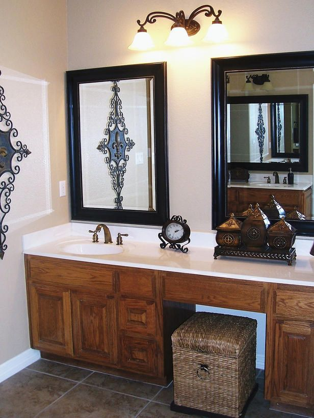 Stylish Yet Simple Mirrors Good Point Add Two Even If There Is Only 1 Sink