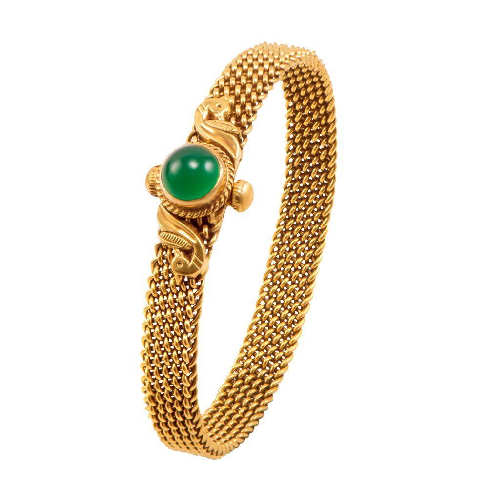 e06b5322b2f20 Buy Joyalukkas Apoorva Collection 22k Oxidized Gold Bangle Online at ...