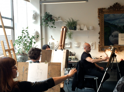 London Painting Classes And Drawing Classes At Sunny Art Centre