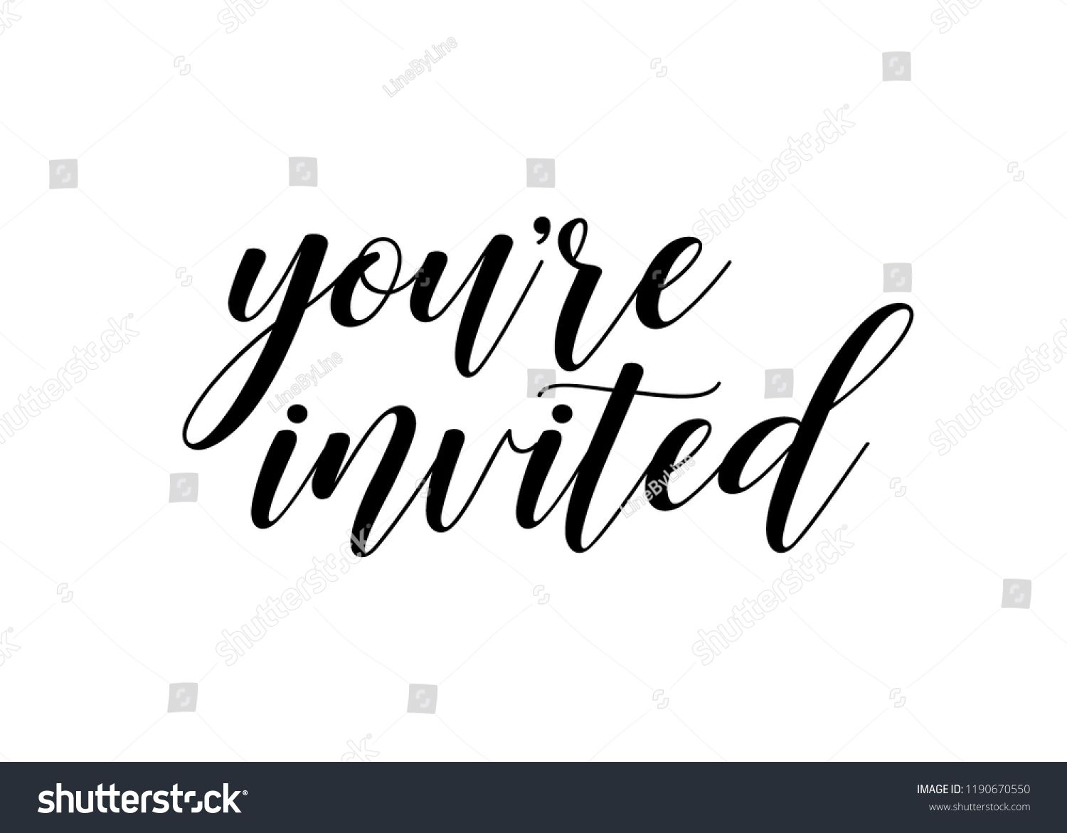 You Re Invited Vector Text Background Vector Invited Background Text Text Background Youre Invited Vector