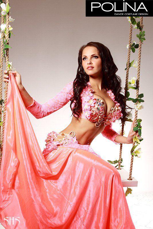 Polina pink costume | Dança do ventre e tribal fusion/ belly dance ...