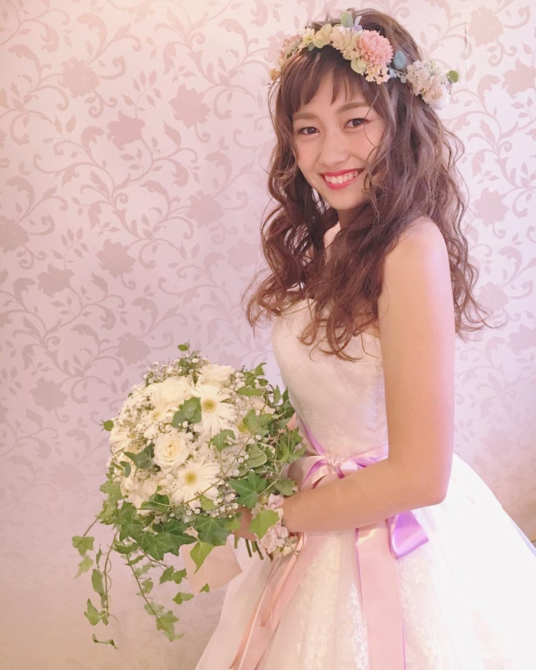 「花嫁 前髪あり」の画像検索結果