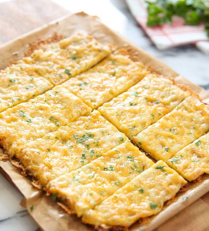 Cauliflower Breadsticks Recipe Cauliflower Breadsticks Food