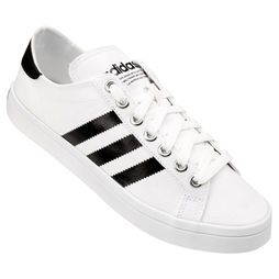 t ê nsi adidas courtvantage basso branco   preto scarpe pinterest