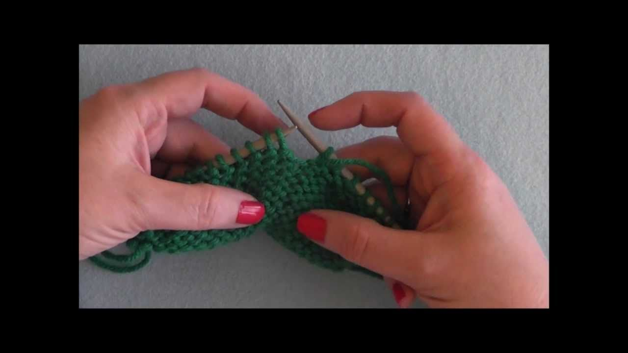 How to purl 2 together through back loops p2togtbl