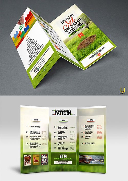 30 Creative Examples of Tri-Fold Brochure Designs Brochures, Tri - product brochures