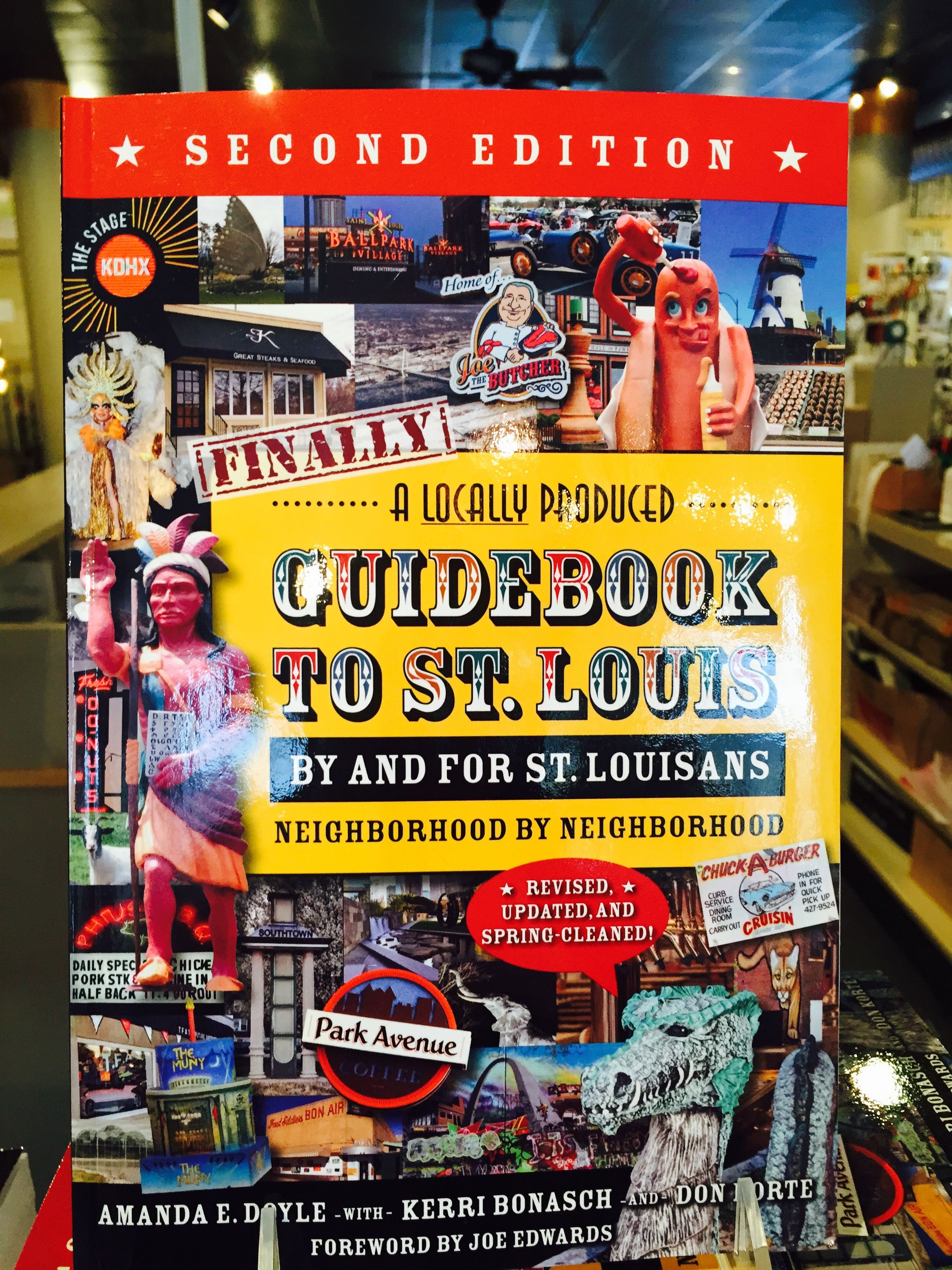 Guide to St. Louis book