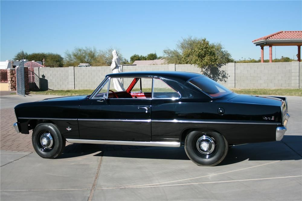 1966 Chevrolet Nova 2 Door Coupe Chevrolet Nova Classic Cars