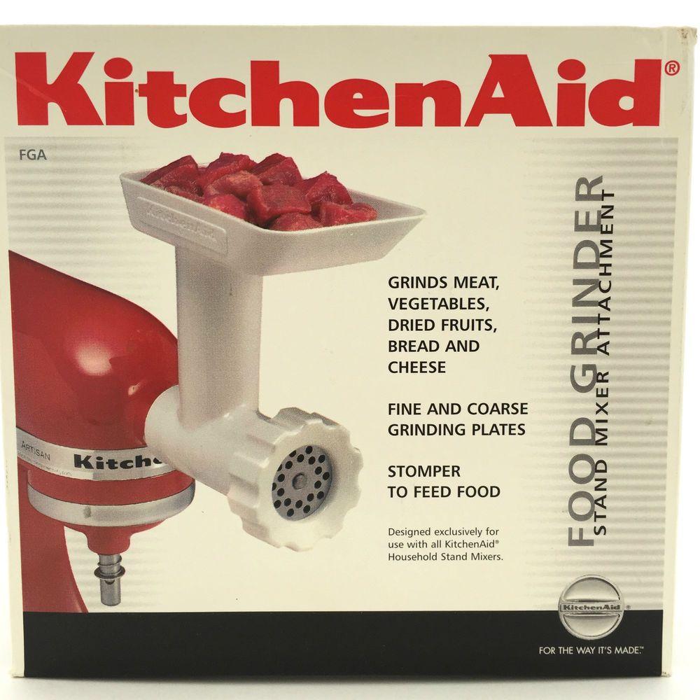 Kitchenaid food grinder stand mixer attachment kitchenaid