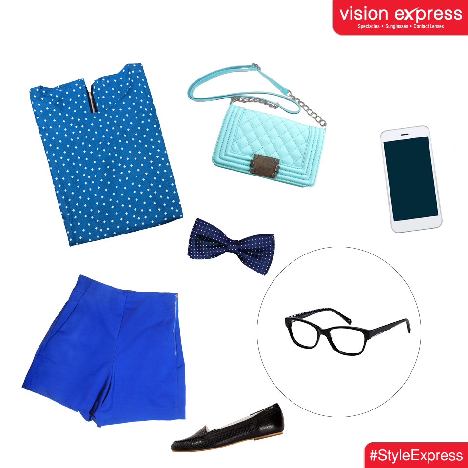 For the urban look that, these classic chic frames are designed with minimal highlights on the temples to show your fun side.  Model -VX GV SENSAYA SEN41 A  www.visionexpress.in