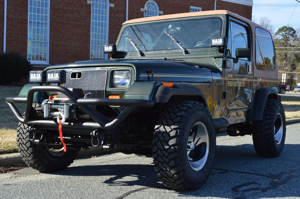 Ebay 1995 Jeep Renegade Yj Renegade 1995 Jeep Wrangler Yj With