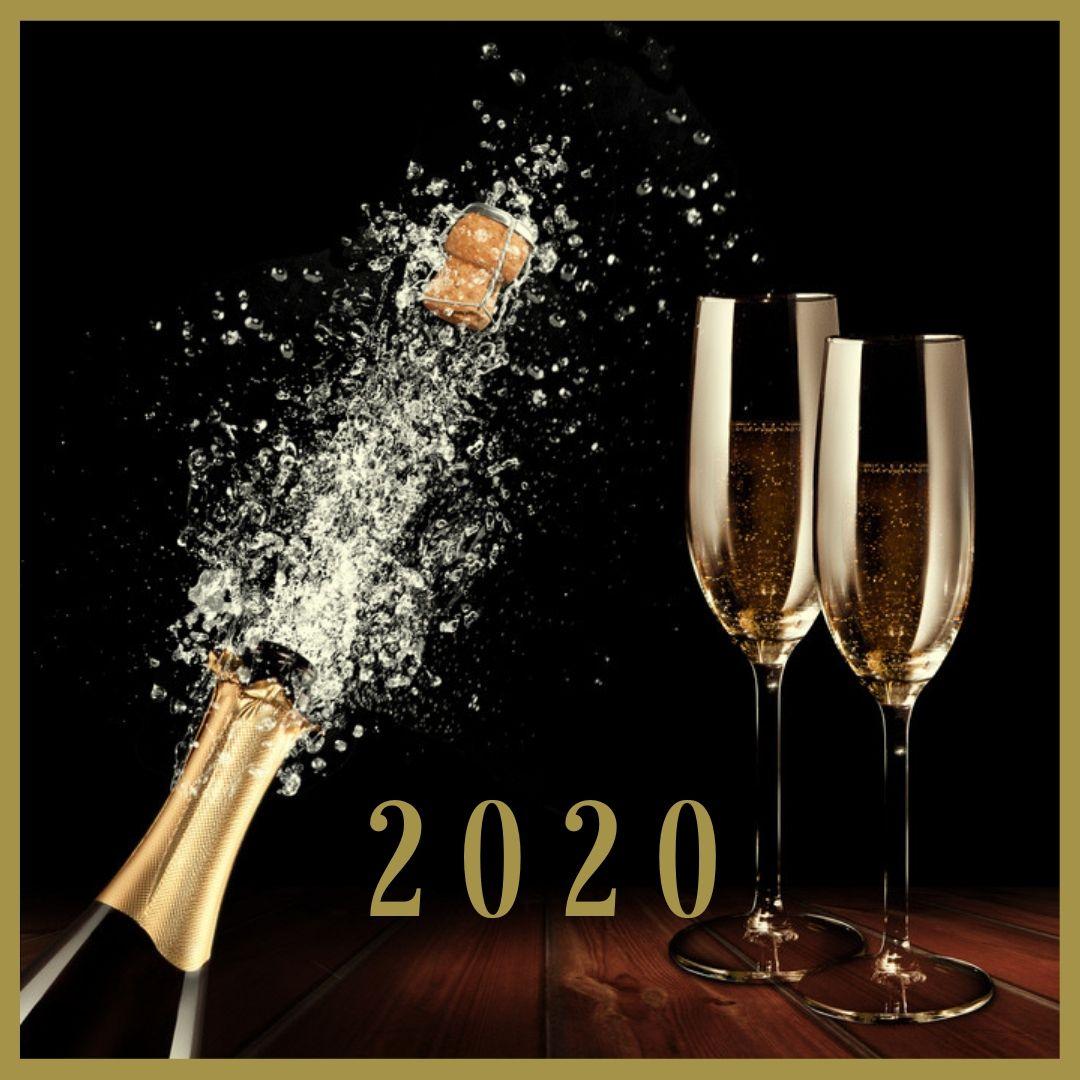Silvester Deko 2020