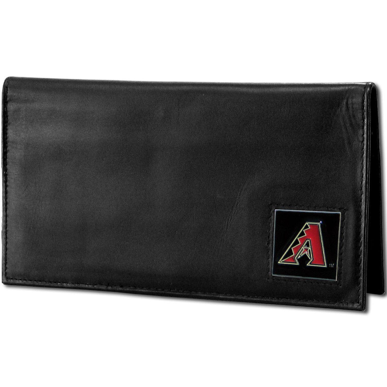 Arizona Diamondbacks Deluxe Leather Checkbook Cover