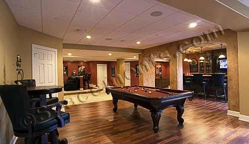Finished Basement Design And Remodeling Projects By Ements Inc