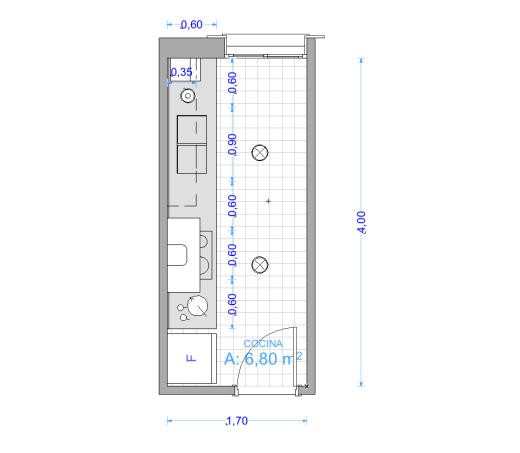 Cuanto mide una cocina open kitchens lofts and townhouse for Medidas estandar isla cocina