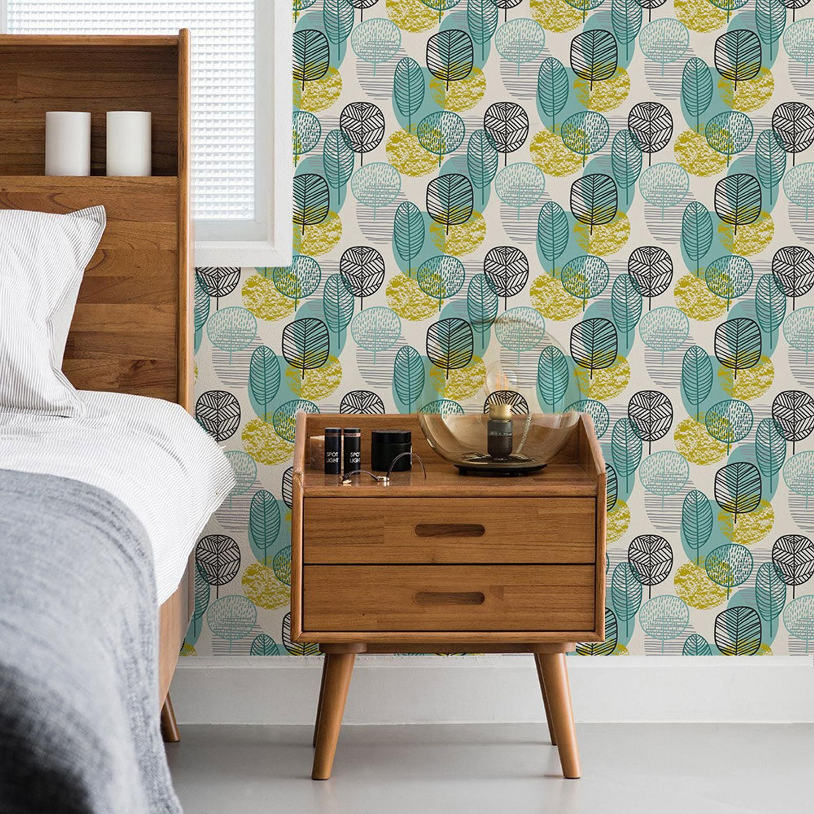 Autumn Leaves Wallpaper Removable Wallpaper Peel And Stick Wallpaper Self Adhesive Wallpaper Leaf Wallpaper Autumn Leaves Wallpaper Removable Wallpaper