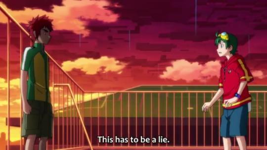 Haru And Yuujin Apollo Justice Digimon Haru