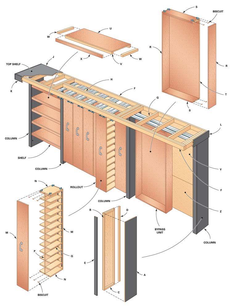 Garage Storage Space Saving Sliding Shelves Garage Storage Sliding Shelves Diy House Projects