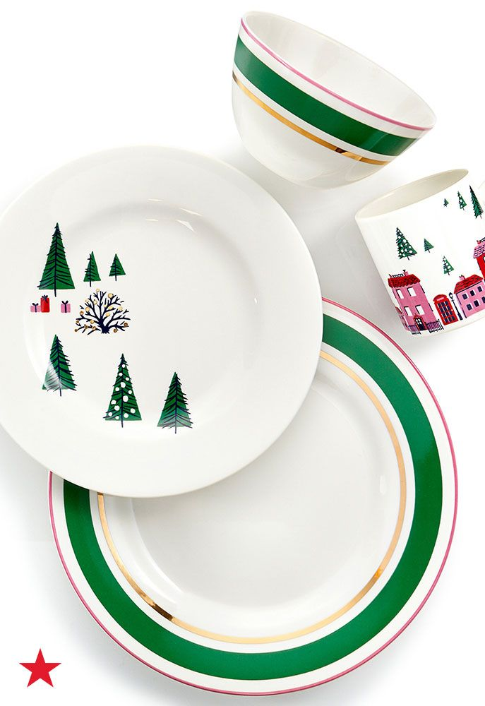 Dining Sets. Dishes. Celebrate In Style This Holiday Season With The Kate  Spade New York Arbor Village Collection,