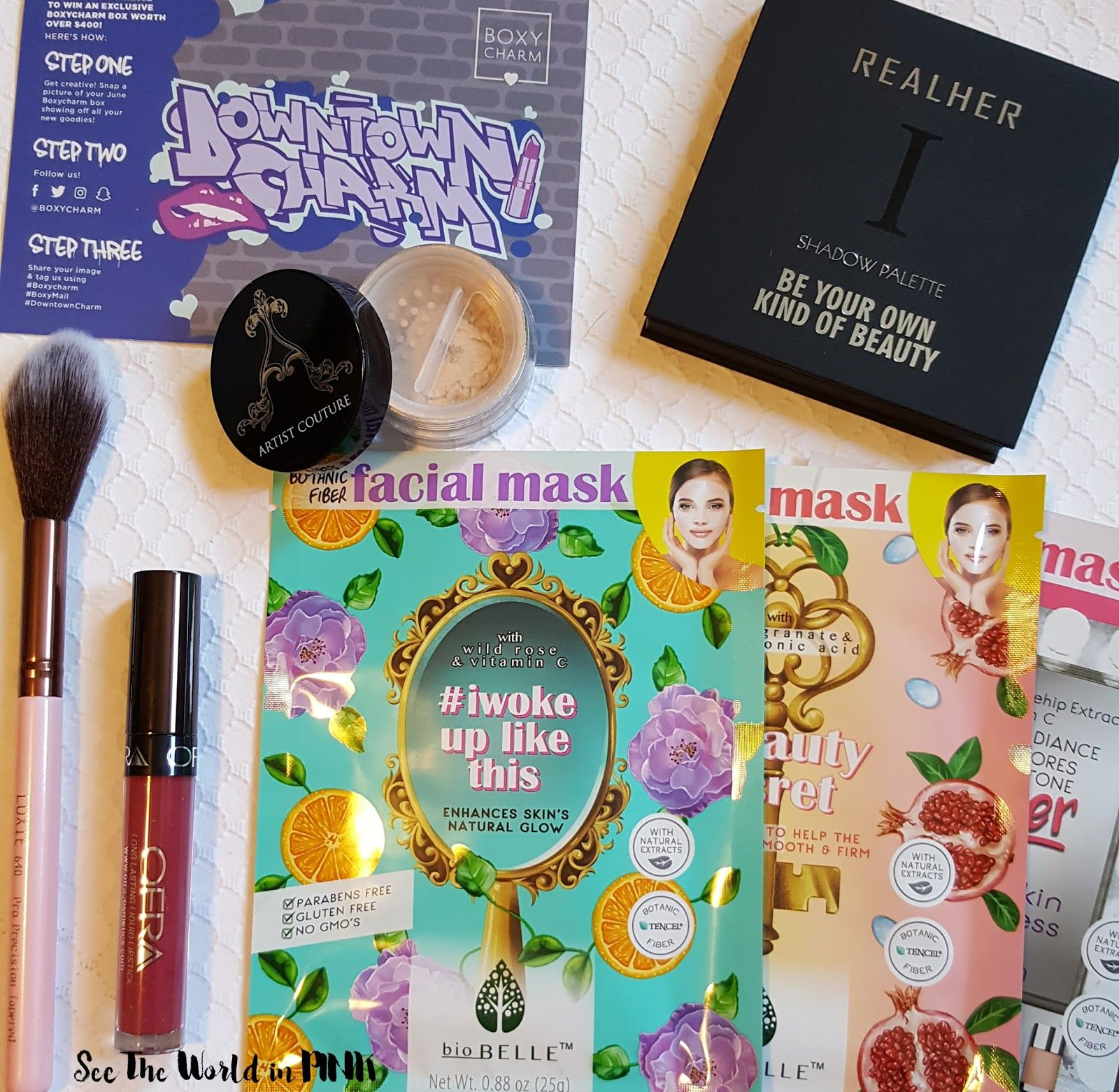 June 2017 Boxycharm Unboxing and Review! Boxycharm
