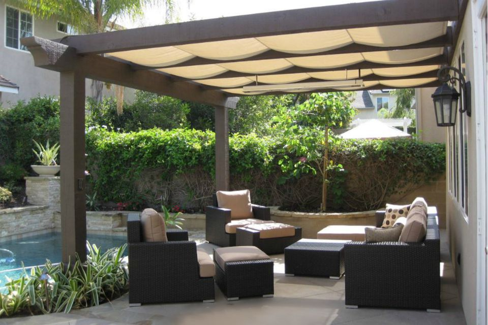 outdoor patio shades backyard shade