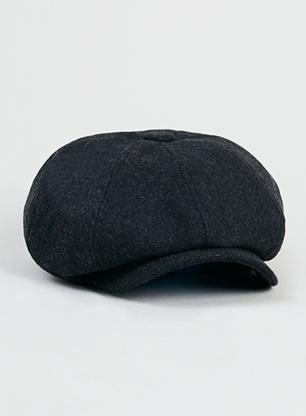 Grey Melton Baker Boy Hat  3e16f293825