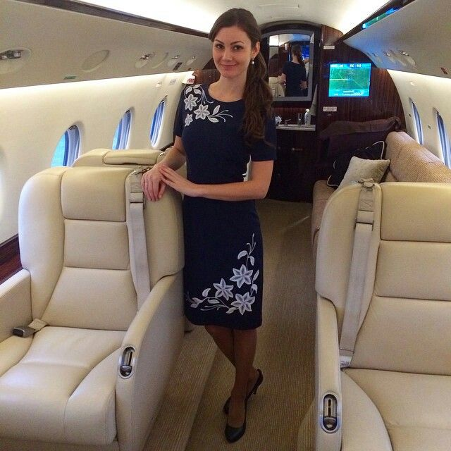 private on jet stewardesses sexy
