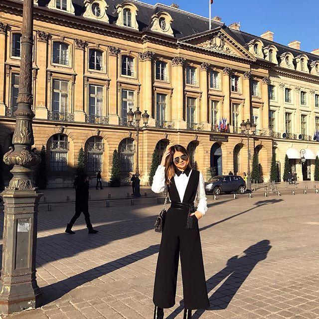 Sunny Paris! ☀️❄️ | Sim, para quem perguntou, vim para o desfile da @victoriassecret! Ansiosa para assistir meu segundo desfile da marca e em uma cidade tão especial! | Look deuso já do inverno da @skazioficial! Que tal?! #thassiastyle #thassiafrenchdays