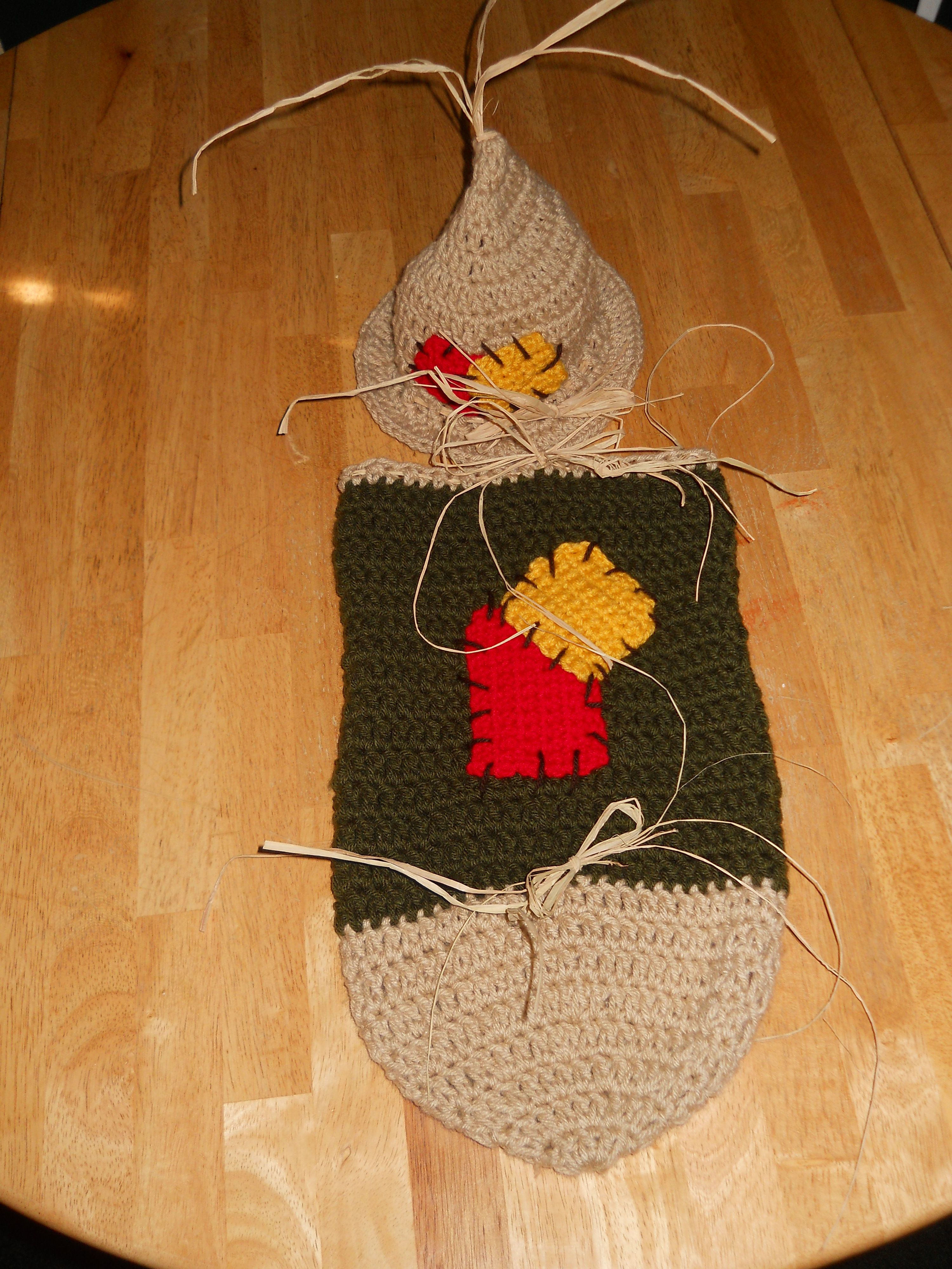 Crochet scarecrow hat and cocoon. | Crochet and Knit | Pinterest ...