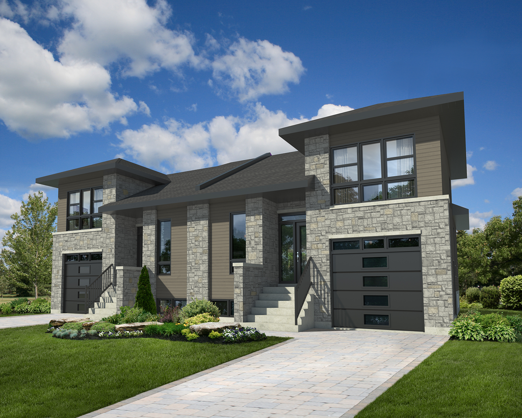 Contemporary Style House Plan 6 Beds 4 Baths 3404 Sq Ft Plan 25 4611 Floor Plan Design Modern Style House Plans Contemporary House Plans