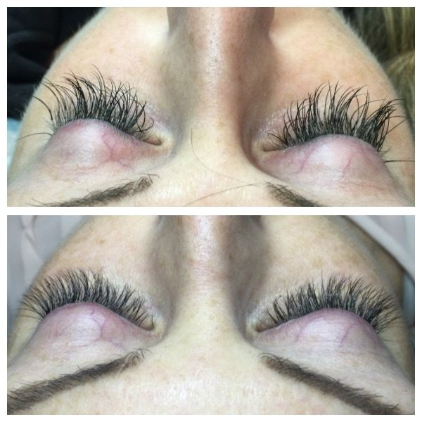 Lash Damage From Previous Set Was Replaced By More Professional
