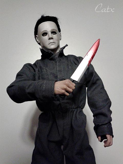 Tony Moran Signed Steel Chef Knife Michael Myers Halloween I Michael Myers Halloween Michael Myers Moran