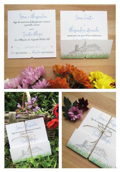 Matrimonio Tema Juta : Partecipazioni stile rustico a tema matrimonio in campagna schede
