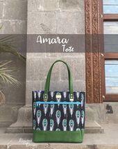 Amara Tote  Handbag  Bagstock Designs Sewing Pattern PDF sewing pattern This image has get 0 repins Author Sonia