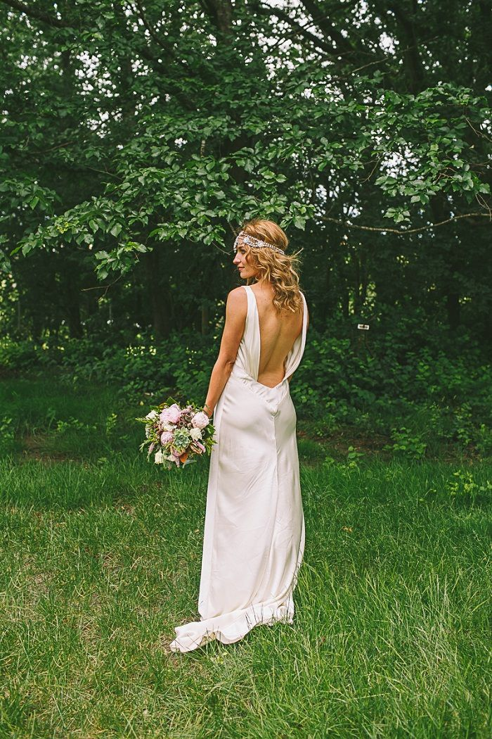 Open back wedding dress - Rebecca Schoneveld wedding dress | itakeyou.co.uk