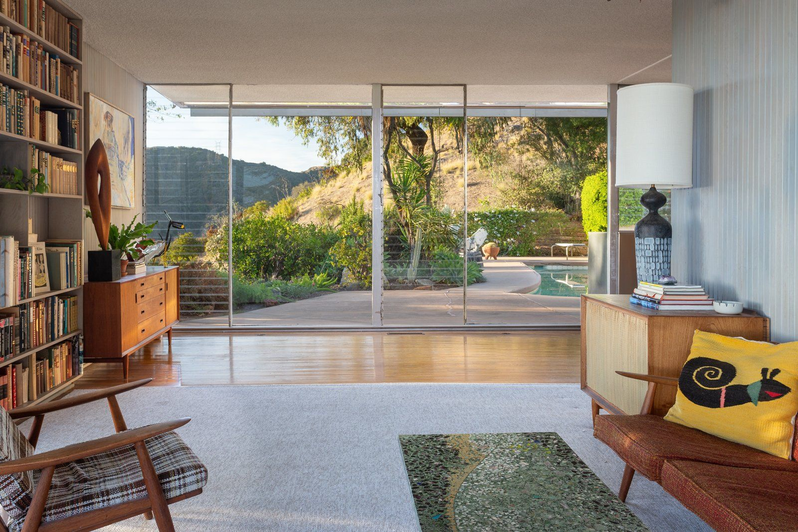 Photo 4 Of 14 In A Lovely Light Filled Neutra Home Just Listed For Mid Century House Doors Interior Modern Richard Neutra