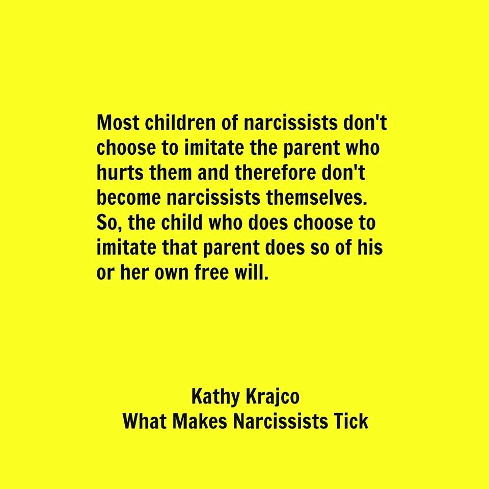Pick Victims Do Their Narcissists How
